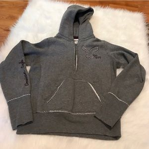 AMERICAN EAGLE OUTFITTERS HOODED PULLOVER